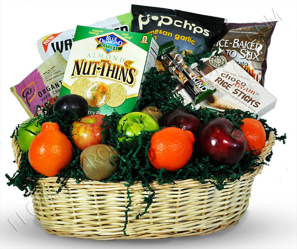 How to make the most of celiac awareness month gluten free works gluten free basket with fruit1 negle Gallery