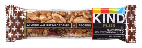 KIND bars almond walnut macadamia