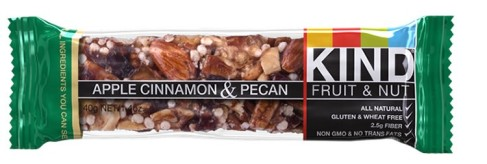 KIND apple cinnamon and pecan
