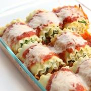 spinach-lasagna-rolls-pan