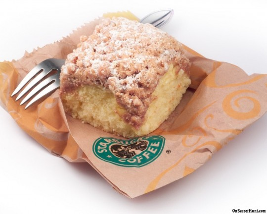 Starbucks Coffee Crumble Cake Recipe